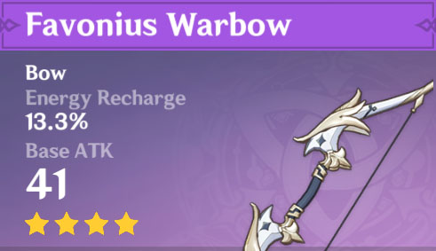 Favonius Warbow image