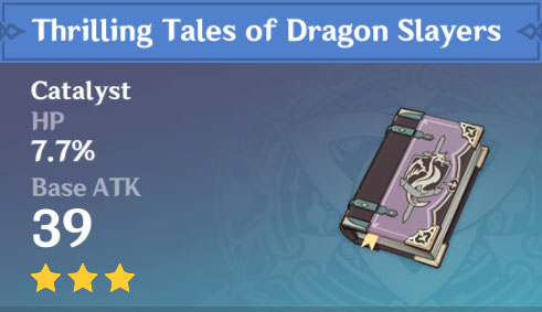 Thrilling Tales of Dragon Slayers image