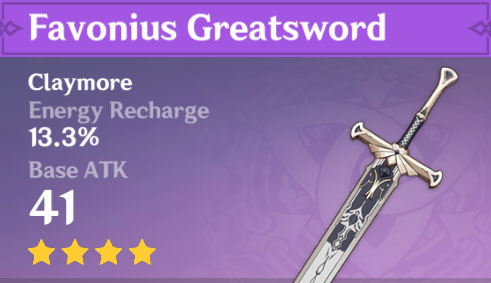 Favonius Greatsword image