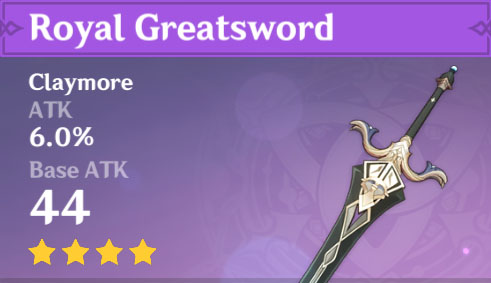 Royal Greatsword image