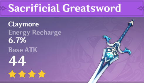 Sacrificial Greatsword image