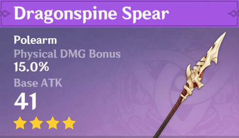 Dragonspine Spear image