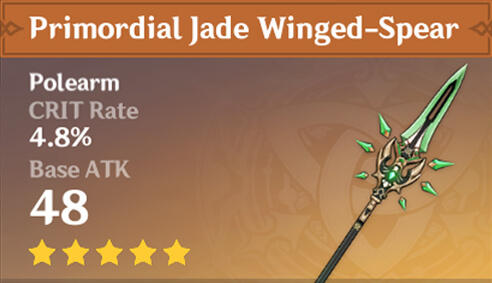 Primordial Jade Winged-Spear image