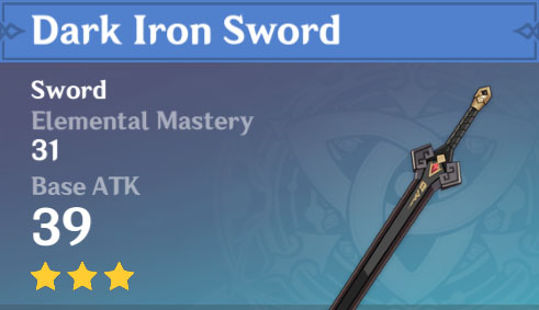 Dark Iron Sword image