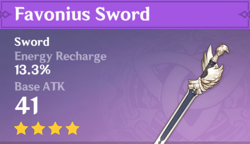 Favonius Sword image